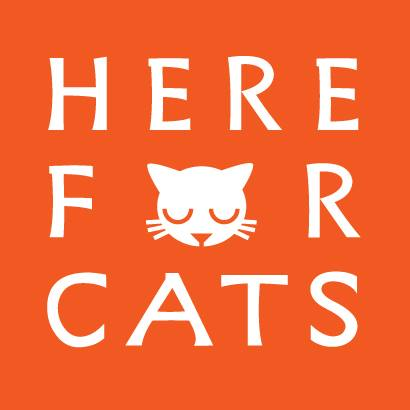 Here for cats Logo