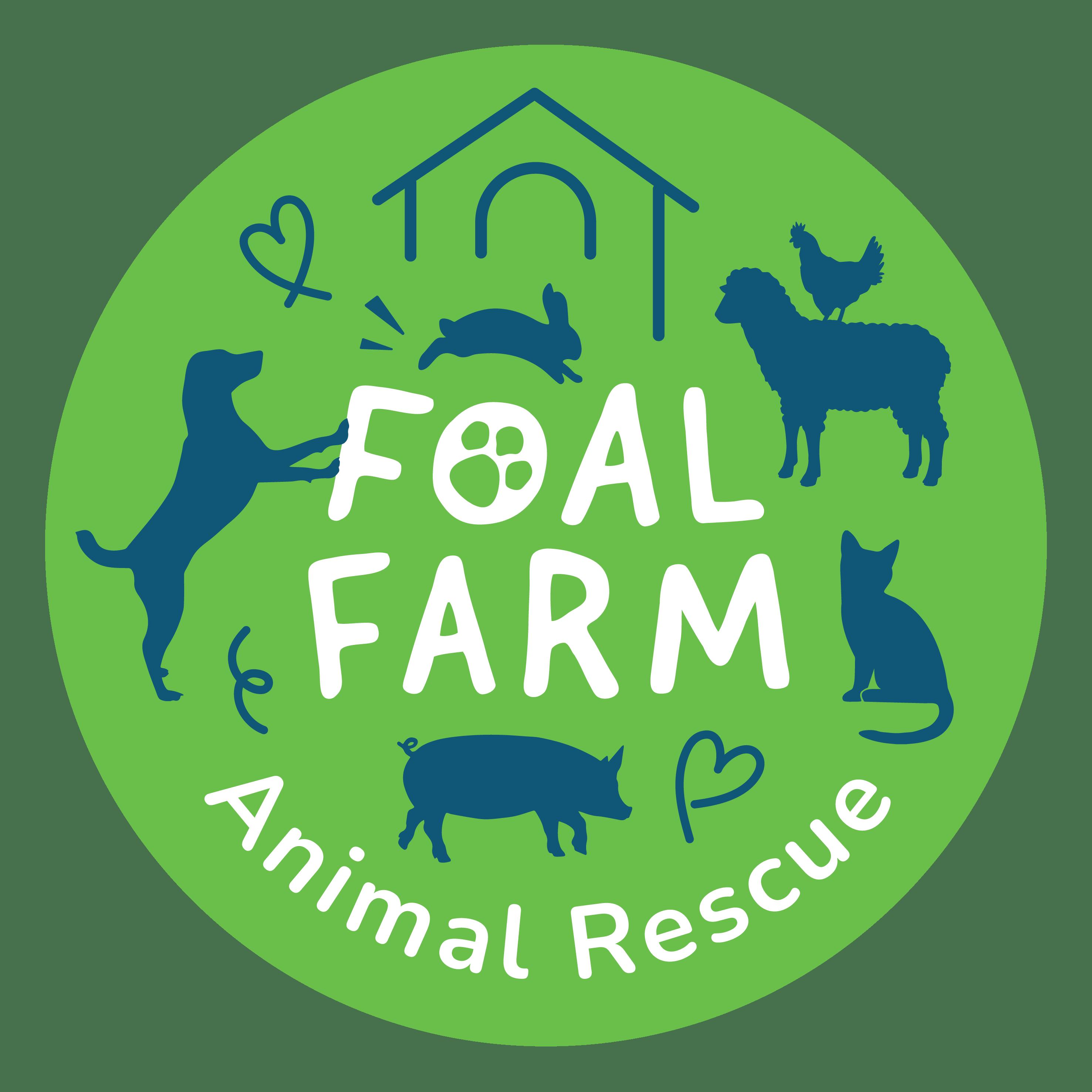 Foal Farm Main Logo Green Circle