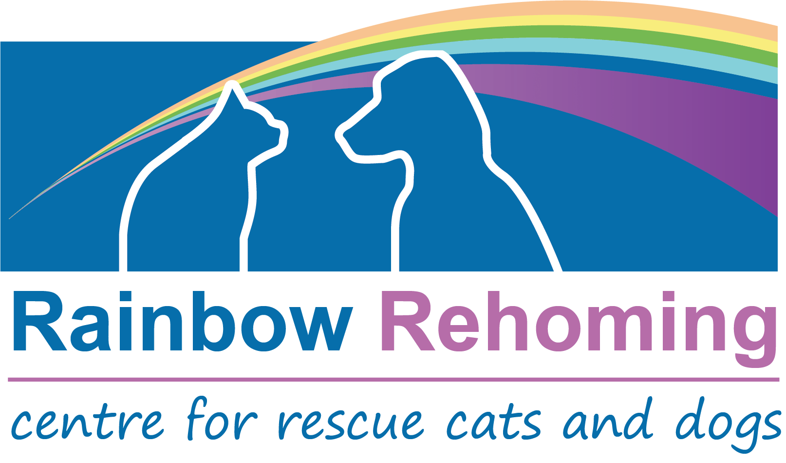Rainbow rehoming Centre Logo